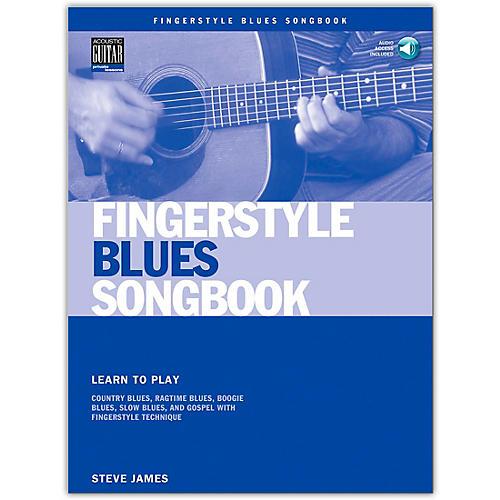 Hal Leonard Fingerstyle Blues Songbook (Book/Online Audio)