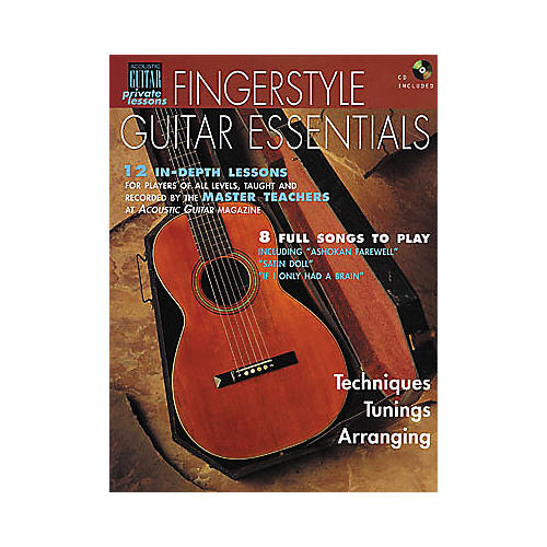 string letter publishing fingerstyle guitar essentials book cd guitar center. Black Bedroom Furniture Sets. Home Design Ideas