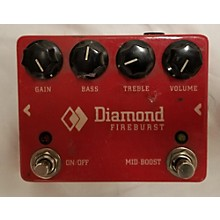 Diamond Amplification Fireburst Effect Pedal