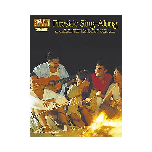 Hal Leonard Fireside Sing-Along Strum It Guitar Book