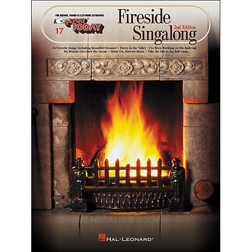 Hal Leonard Fireside Singalong Second Edition E-Z Play 17