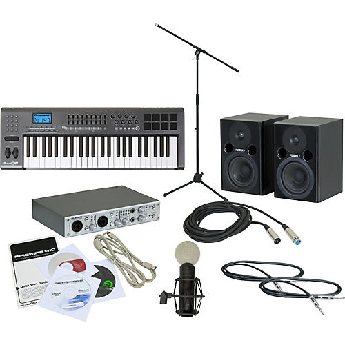 M-Audio Firewire 410 Recording Package