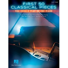 Hal Leonard First 50 Classical Pieces You Should Play on the Piano (Easy Piano Notation)