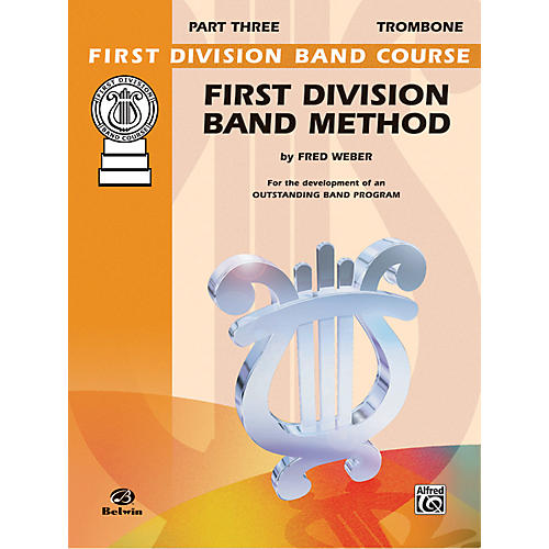 Alfred First Division Band Method Part 3 Trombone