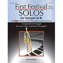 Carl Fischer First Festival Solos for Trumpet (20 Easy Solos with Piano Accompaniments)
