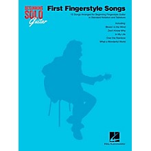 Hal Leonard First Fingerstyle Songs - Beginning Solo Guitar