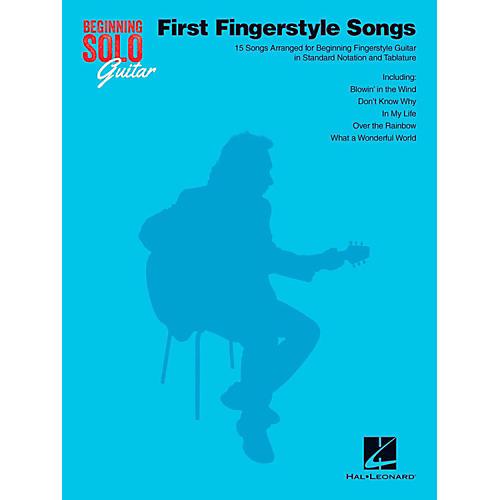 Hal Leonard First Fingerstyle Songs - Beginning Solo Guitar