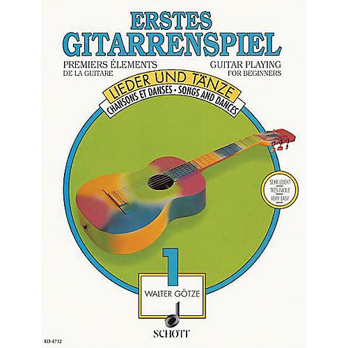 Schott First Guitar Pieces Vol. 1 Schott Series