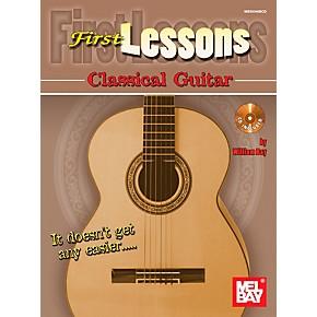 mel bay first lessons classical guitar guitar center. Black Bedroom Furniture Sets. Home Design Ideas