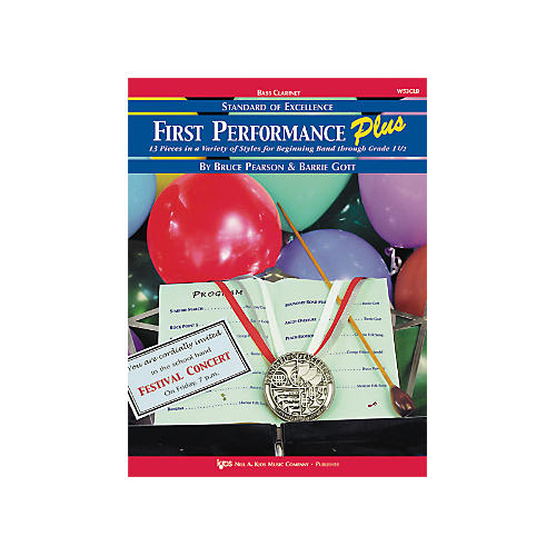 KJOS First Performance Plus Bflat Bass Clarinet Book