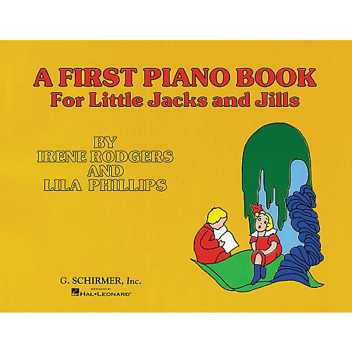 G. Schirmer First Piano Book for Little Jacks And Jills By Rodgers