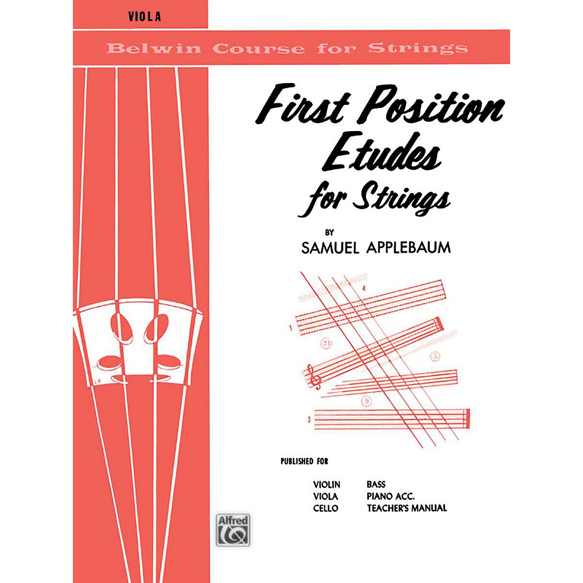 BELWIN First Position Etudes for Strings Viola