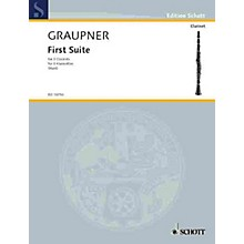 Schott First Suite Schott Series Composed by Johann Christoph Graupner Arranged by Edgar Hubert Hunt