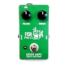 Greer Amplification Fish Press Effect Pedal