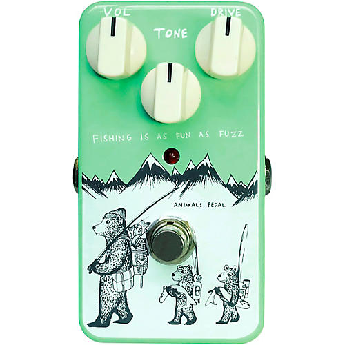 Animals Pedal Fishing Is As Fun As Fuzz Effects Pedal