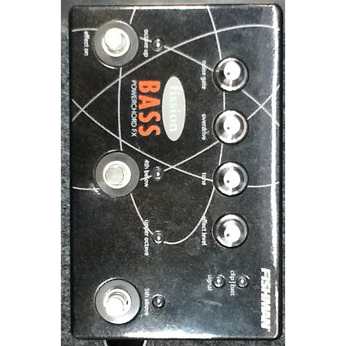 Fishman Fission Bass Powerchord Fx Bass Effect Pedal