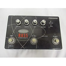 Fishman Fission Bass Sold As Is