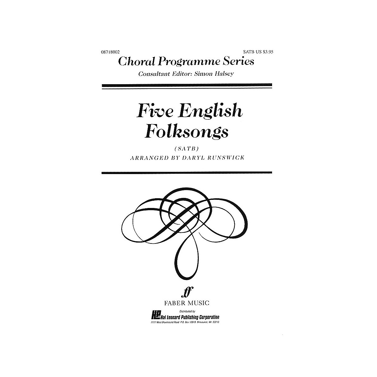 Faber Music LTD Five English Folksongs (Collection) Faber Program Series Series Edited by Daryl Runswick