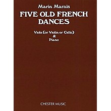 Chester Music Five Old French Dances (for Viola and Piano) Music Sales America Series