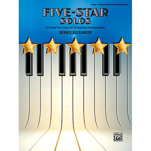 Alfred Five-Star Solos, Book 1 - Early Elementary / Elementary