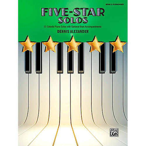 Alfred Five-Star Solos, Book 2 - Elementary
