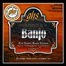 GHS Five String Banjo Meduim Strings