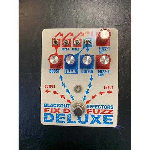 Blackout Effectors Fix'D Fuzz Deluxe Effect Pedal
