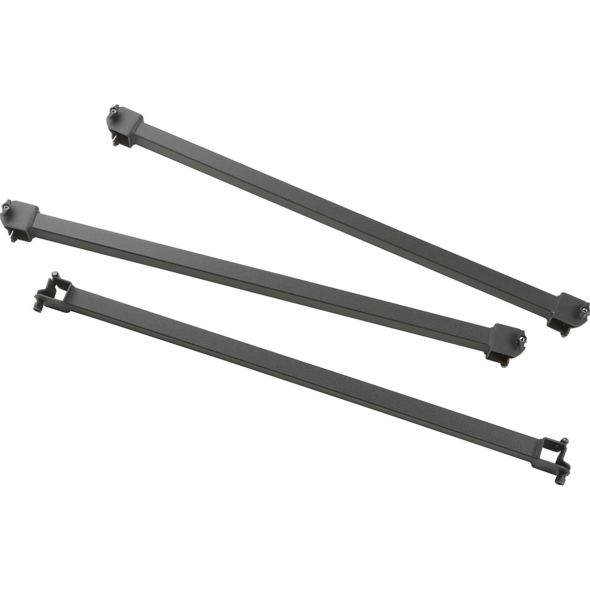 Adams Fixed Crossbars Set of 3
