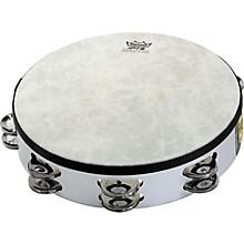 Fixed-Head Tambourine White 8