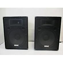 Seismic Audio Fl-15p Pair Unpowered Speaker