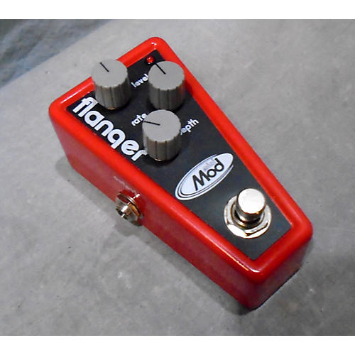 In Store Used Flanger Red Effect Pedal