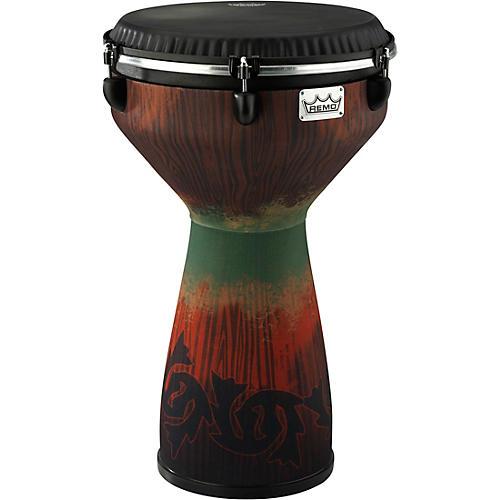 Remo Flareout Djembe Drum, Savannah Red, 13