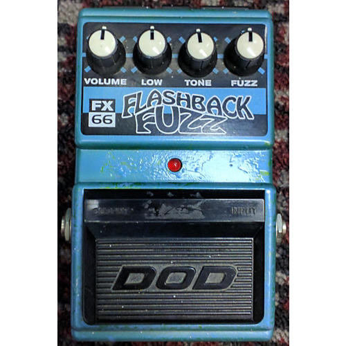DOD Flashback Fuzz Effect Pedal