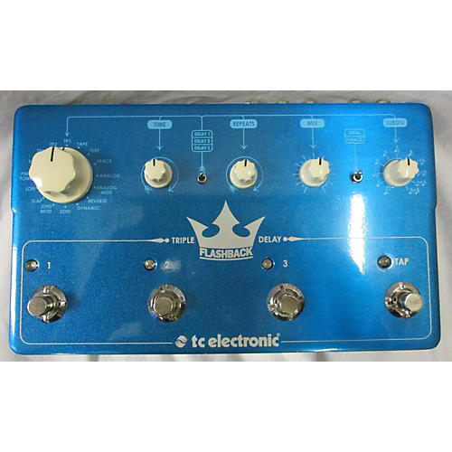 TC Electronic Flashback Triple Delay Effect Pedal