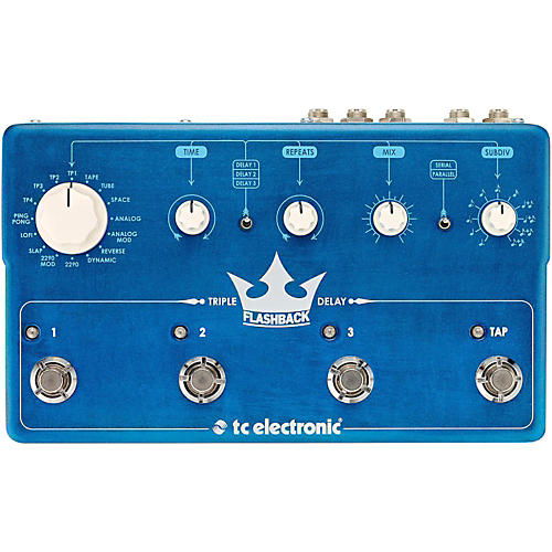TC Electronic Flashback Triple Delay Guitar Effects Pedal