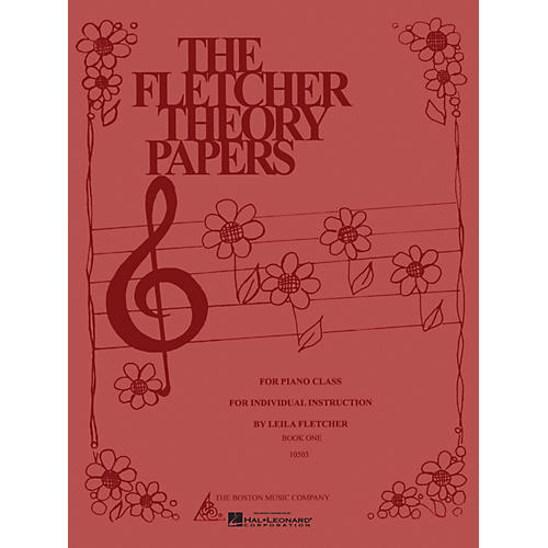 Boston Music Fletcher Theory Papers (Book 1) Music Sales America Series Softcover Written by Leila Fletcher
