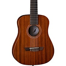 Dean Flight Nylon Satin Mahogany Travel Guitar