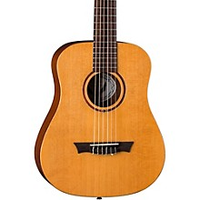 Dean Flight Nylon Satin Spruce Travel Guitar