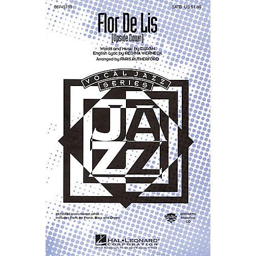 Hal Leonard Flor De Lis (Upside Down) SATB arranged by Paris Rutherford