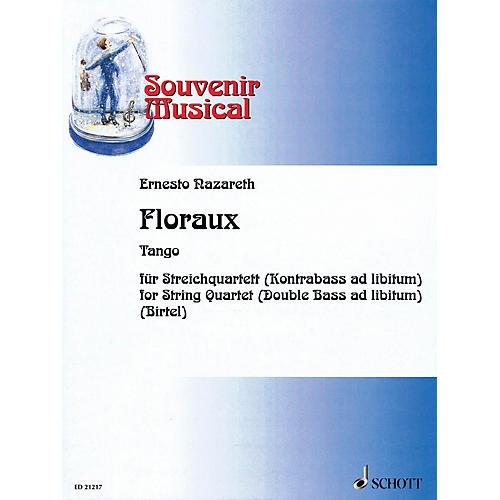Schott Music Floraux Schott Series Softcover Composed by Ernesto Nazareth Arranged by Wolfgang Birtel