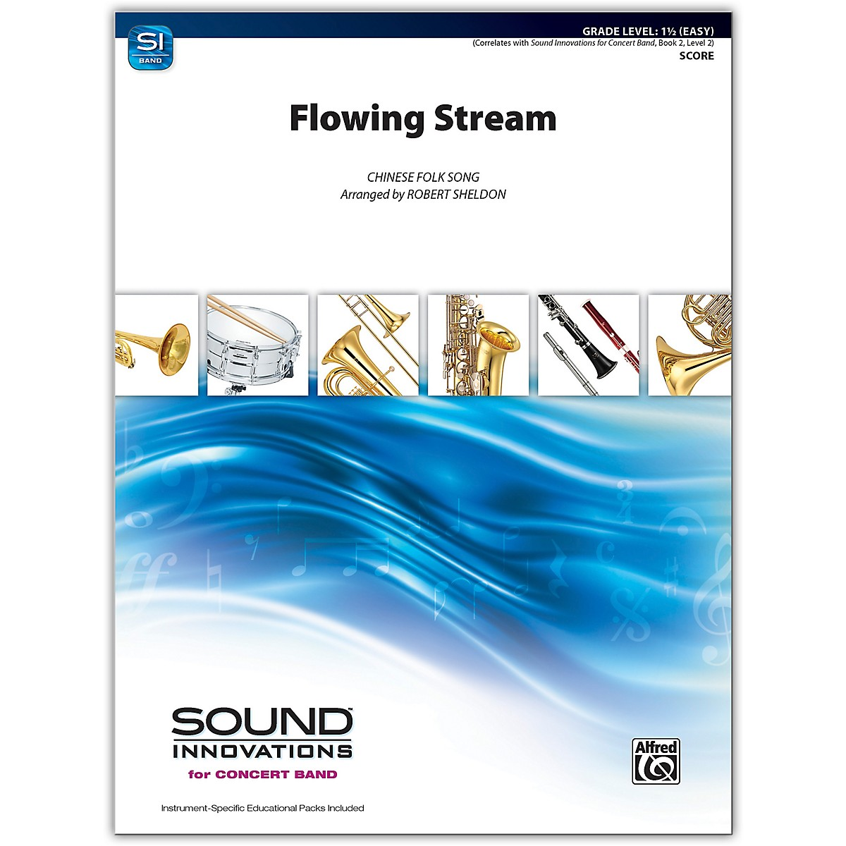 Alfred Flowing Stream Conductor Score 1.5 (Easy)