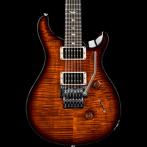 PRS Floyd Custom 24 Carved Flame Maple 10 Top with Nickel Hardware Solid Body Electric Guitar