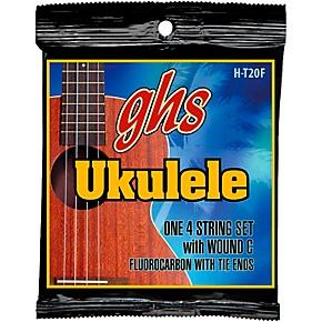 ghs fluorocarbon high tension fingerstyle ukulele strings guitar center. Black Bedroom Furniture Sets. Home Design Ideas