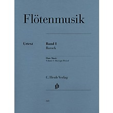 G. Henle Verlag Flute Music (Volume 1 - Baroque Period for Flute & Piano) Henle Music Folios Series Softcover