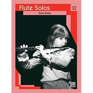 Alfred Flute Solos Level I Solo Book by Alfred