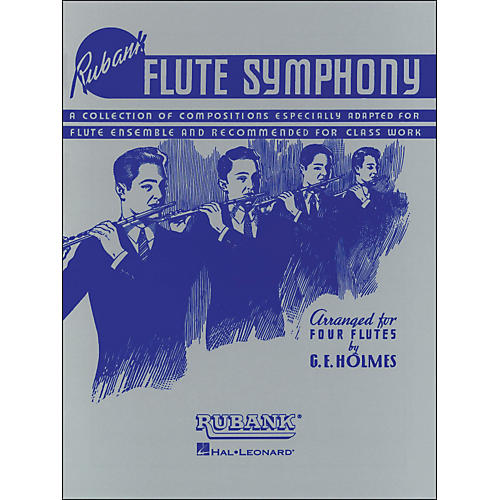 Hal Leonard Flute Symphony - Symphony Ensemble Series (Four Flutes)