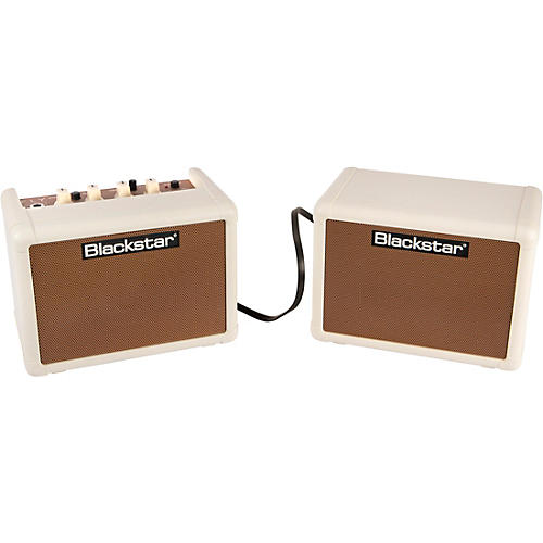 Blackstar Fly 3 Acoustic 3W 1x3 Acoustic Guitar Combo Amp and Fly 3 3W 1x3 Extension Speaker Cabinet