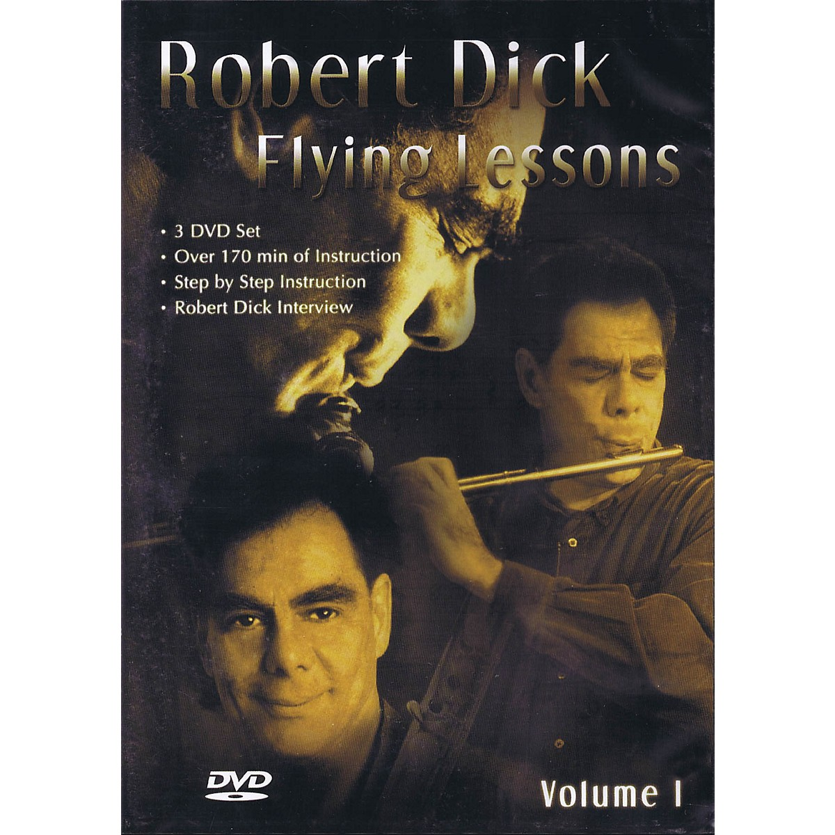 Lauren Keiser Music Publishing Flying Lessons 3 DVD Set (Volume 1) LKM Music Series DVD Composed by Robert Dick