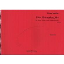 Bote & Bock Fünf Phantasiestücke Boosey & Hawkes Chamber Music Series Book by Ursula Mamlok