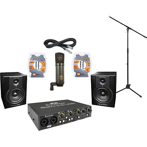 M-Audio Focusrite Saffire 6 and M-Audio BX5a Recording Package